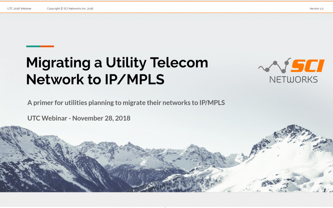 IP/MPLS for Utilities – A Primer